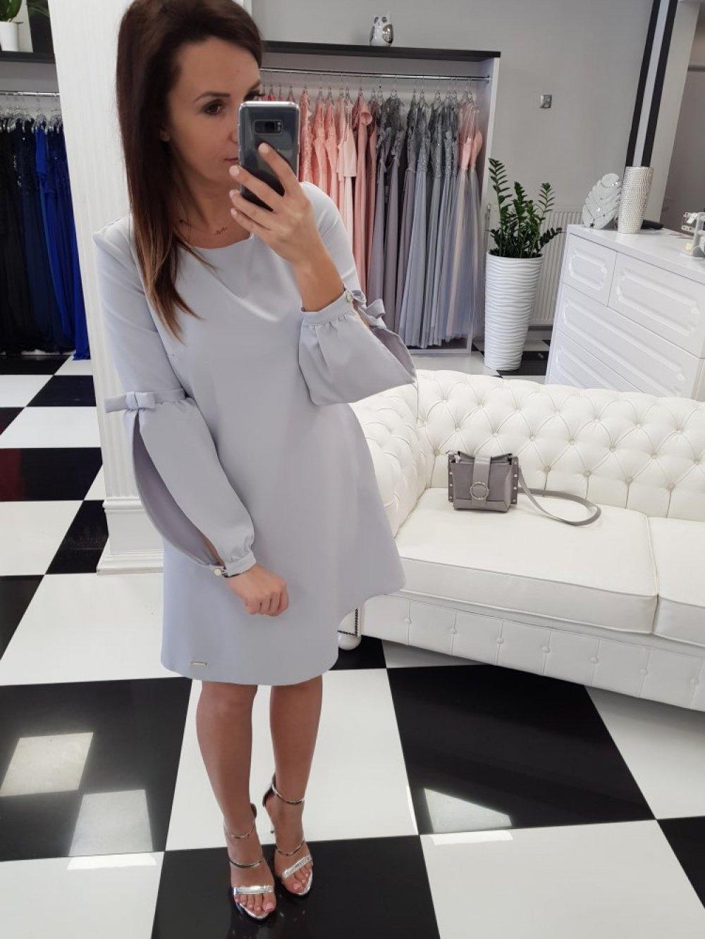 Sukienka Amanda Szara
