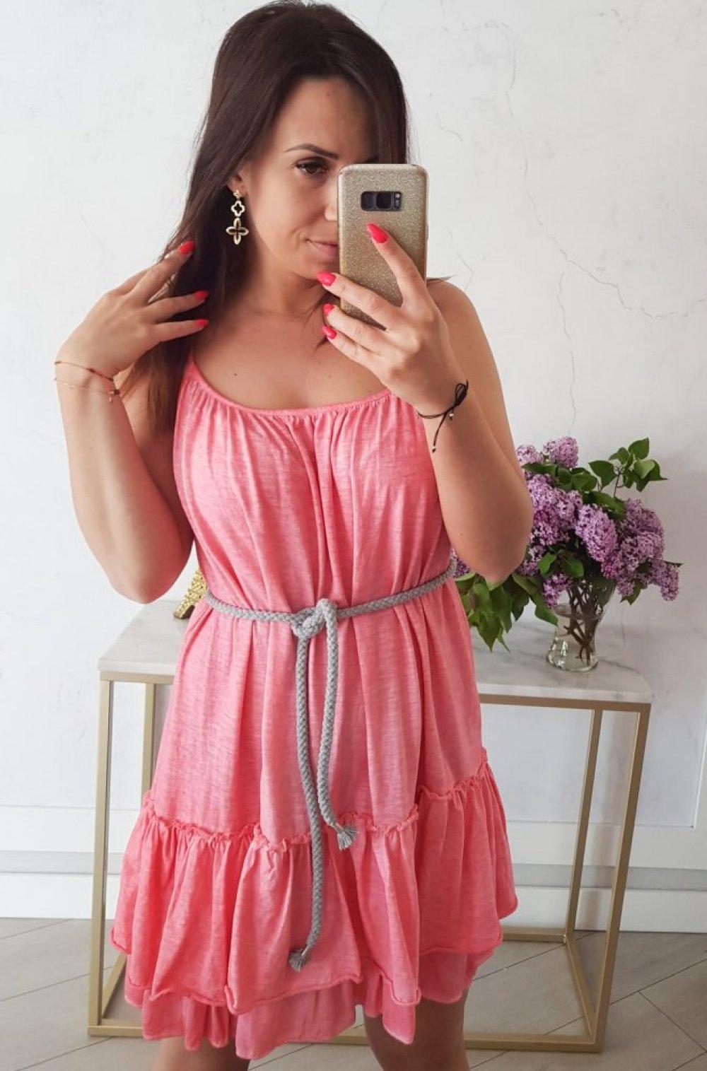 Sukienka Summer Koralowa