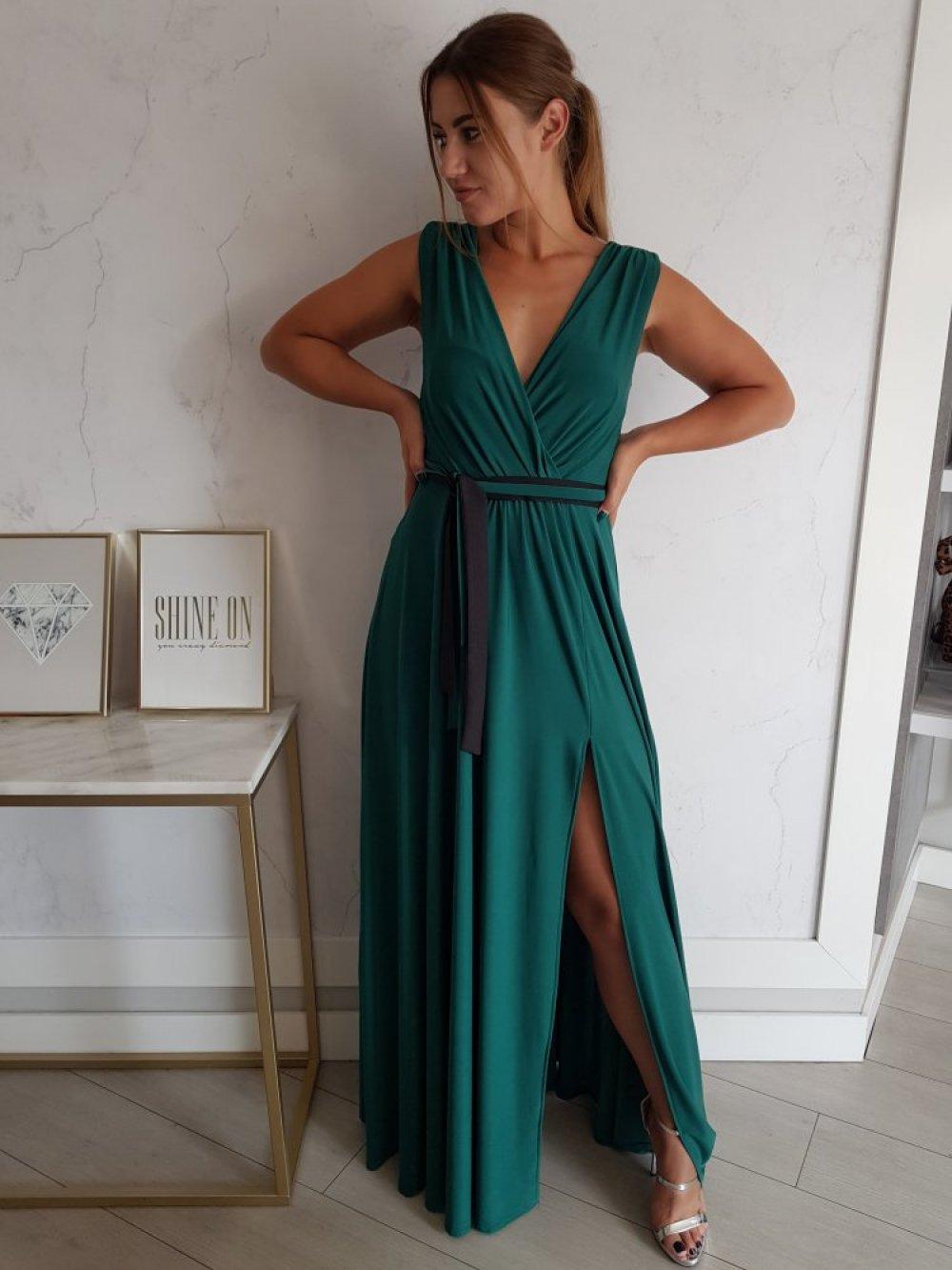 Sukienka Salma Zielona