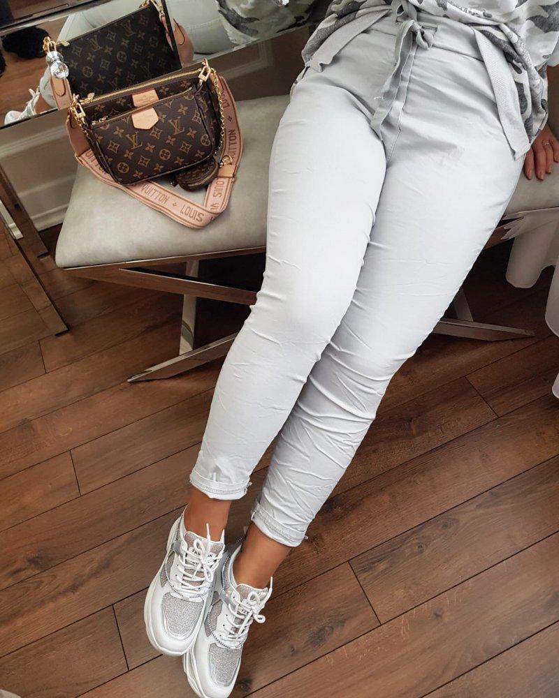 Spodnie Moda Szare
