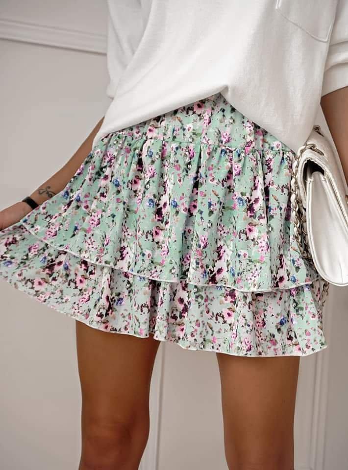 Spódnica Kwiatki