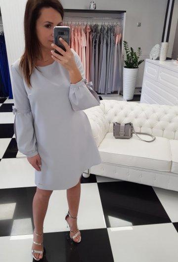 Sukienka Amanda Szara 1
