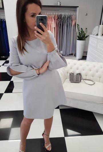 Sukienka Amanda Szara 3