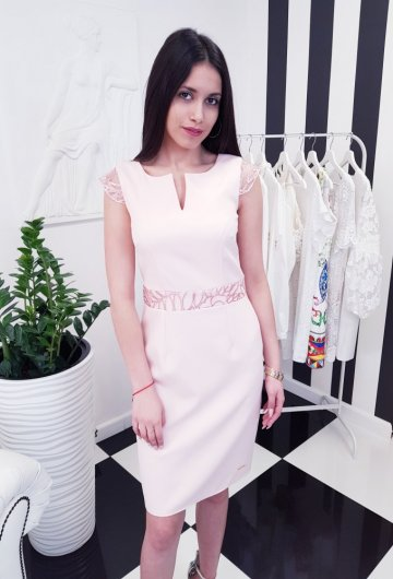 Sukienka Laura Różowa