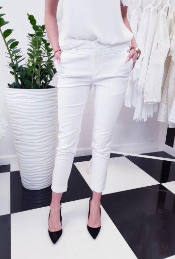 Spodnie Fresia Białe