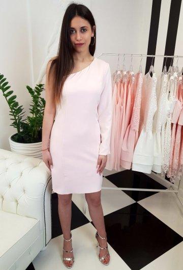 Sukienka Loreen Pudrowy Róż 2