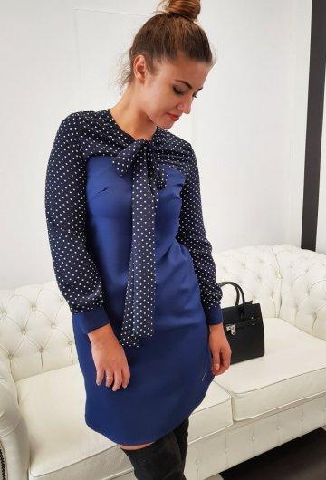 Sukienka Aga Granatowa