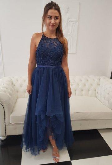 Sukienka Mia Granatowa 1