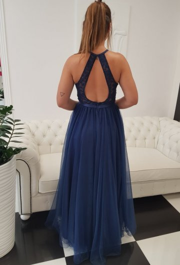 Sukienka Mia Granatowa 5