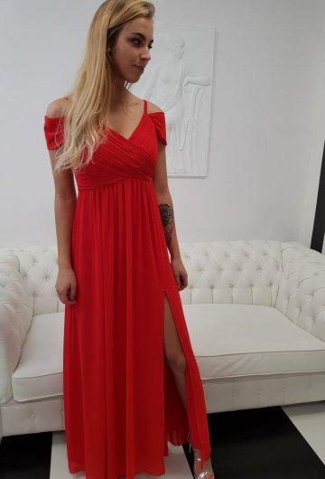 Sukienka Dolores Czerwień 4