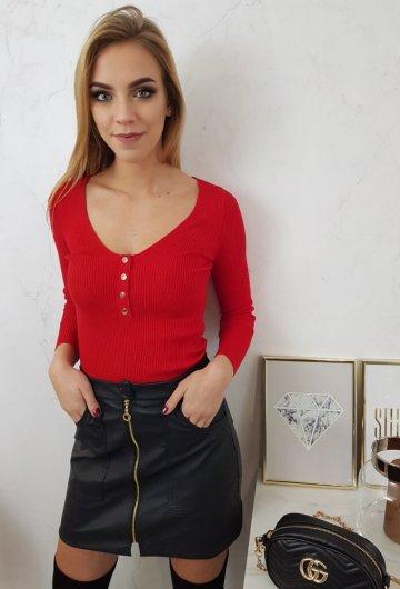 Bluzka Vinceotto Czerwona 2