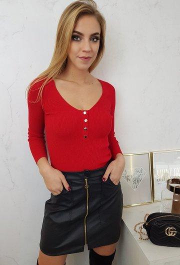 Bluzka Vinceotto Czerwona 3