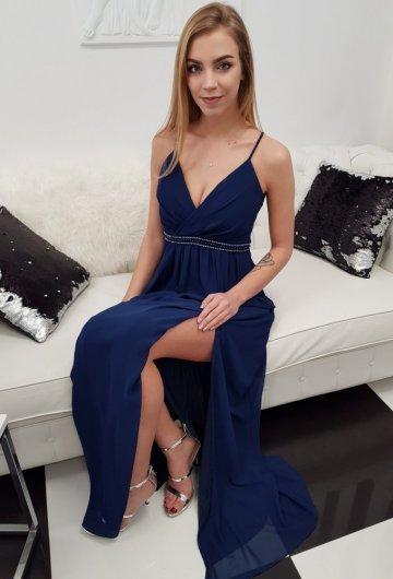 Sukienka Marcelina Granat