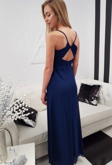 Sukienka Marcelina Granat 1