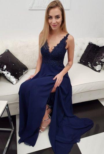 Sukienka Diva Granat 1