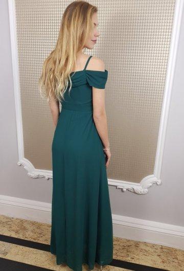 Sukienka Dolores Butelkowa Zieleń 4