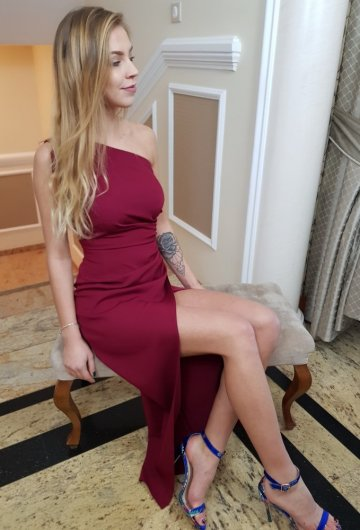 Sukienka Asymetria Bordo 8