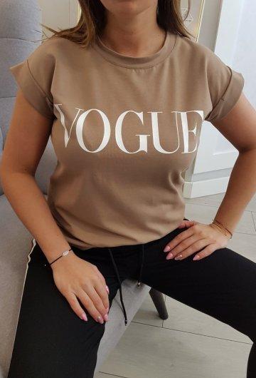 Bluzka Vogue Beżowa