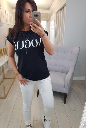 Bluzka Vogue Black 1