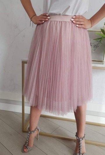 Spódnica Tiulowa Różowa