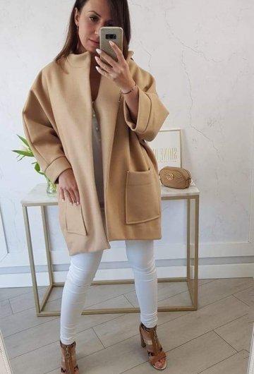 Płaszcz Simplicity Camel