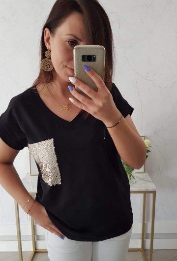 T-shirt Złota Kieszonka + Size