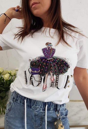 T-shirt Vogue Kobieta
