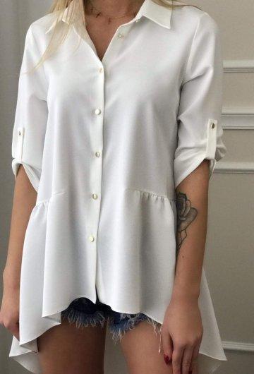 Koszula Trapez Biała