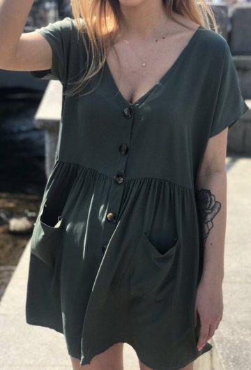 Sukienka Safari Khaki