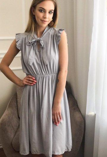 Sukienka Marii Szara