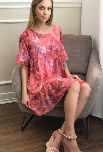 Sukienka Liście 4
