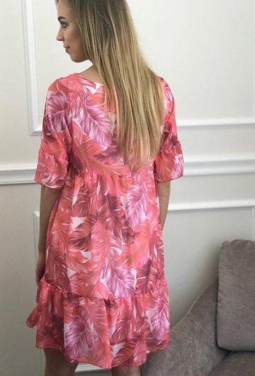 Sukienka Liście 5