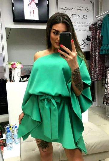 Sukienka Kimono Zielona