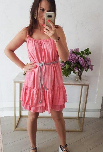 Sukienka Summer Koralowa 1