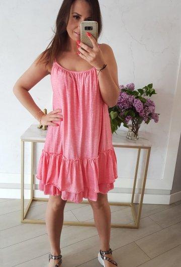 Sukienka Summer Koralowa 2