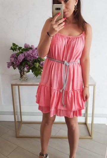 Sukienka Summer Koralowa 3