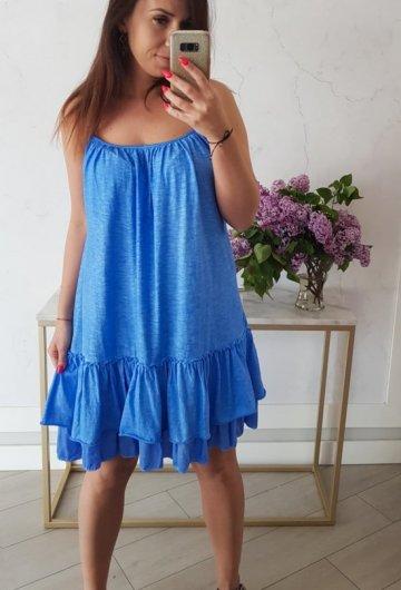 Sukienka Summer Niebieska