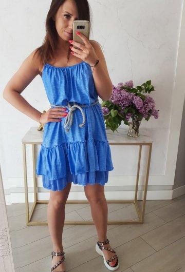 Sukienka Summer Niebieska 1