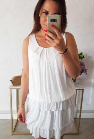 Sukienka Inez Biała