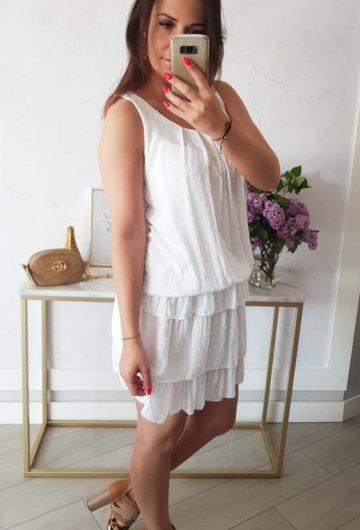 Sukienka Inez Biała 2