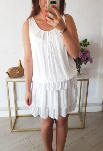 Sukienka Inez Biała 3