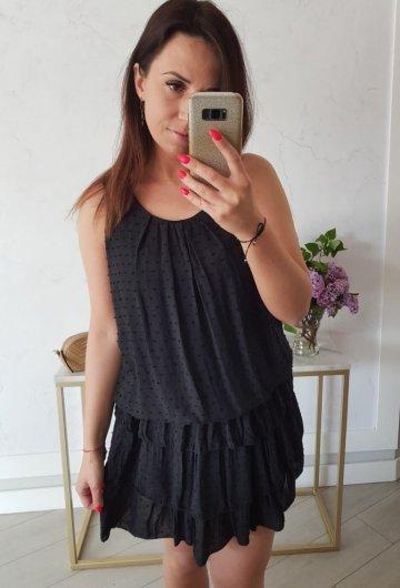 Sukienka Inez Czarna