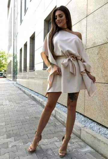 Sukienka Kimono Biszkoptowe