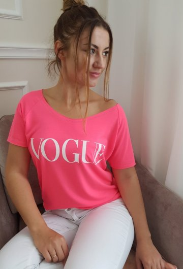 T- shirt Vogue Neon