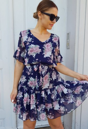 Sukienka Megi Granatowa