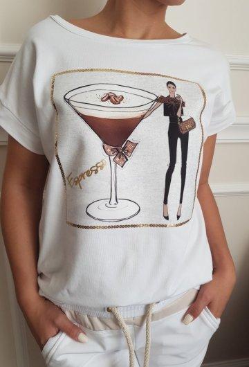 T-shirt Espresso Plus Size