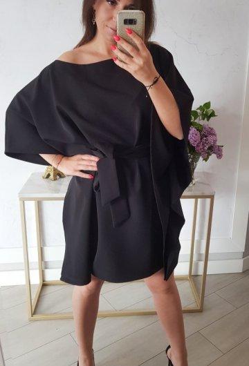 Sukienka Kimono Czarne 1