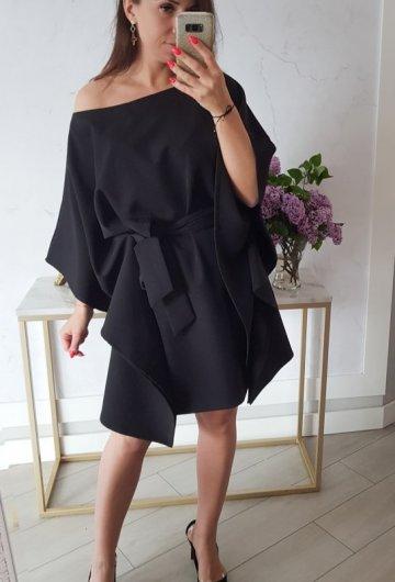 Sukienka Kimono Czarne 2
