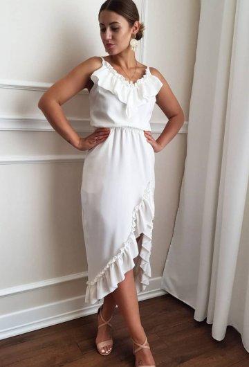 Sukienka Espana Biała