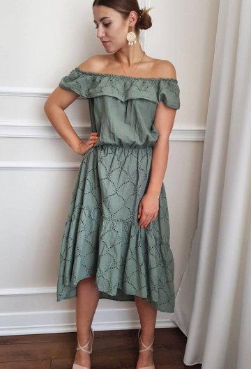 Sukienka Khaki New Collection